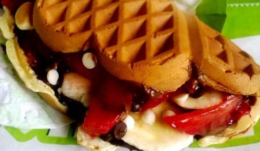 Ev Yapımı Waffle Tarifi