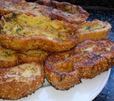 Dereotlu Ekmek Kızartması