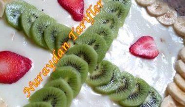 Meyveli Kremalı Kek