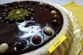 Çikolata Soslu Sütlü İrmik Tatlısı