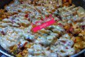 Kaşarlı Sebzeli Omlet