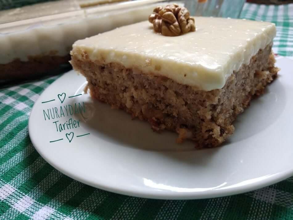 Havuçlu Kremalı Kek