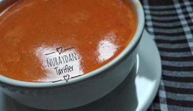 Köz Biberli Domates Çorbası