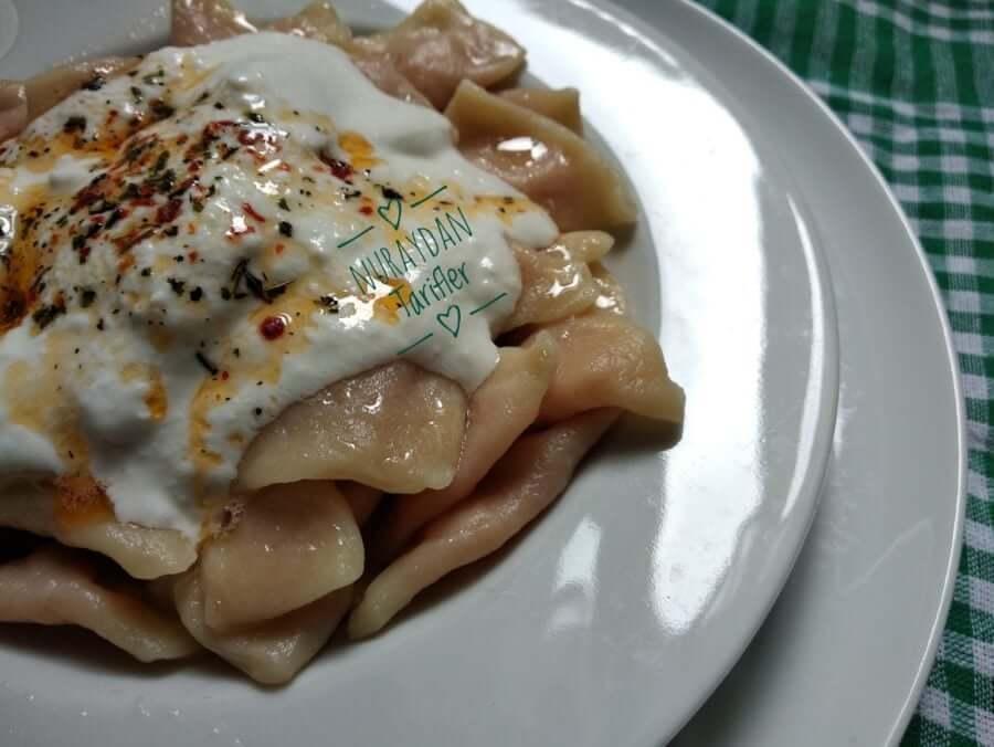 Sivas Hingeli (patatesli mantı)