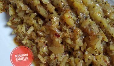 Patates Çırpma (yokluk yemeği)